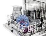 Wie kommt das Geschirr in die Maschine?