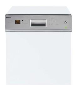 Teilintegrierbarer Geschirrspüler  Beko DSN 6634 FX