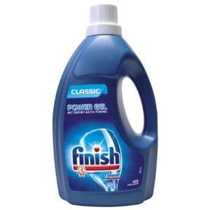 Finish Calgonit Classic Power Gel, Geschirrreiniger Gel (4 x 1,5 l)