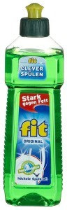 Fit Spülmittel, 8er Pack (8 x 500 ml)