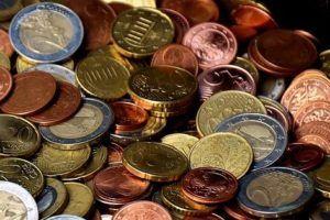 verschiedene Euro Münzen